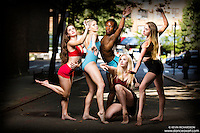 Dance As Art Photography Project- West Village New York City featuring dancers Ashtyn Muzio, Erika Citrin, Kevin Mimms, Alyssa Ness and Jocelyn Farabaugh.