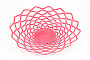 Open lace bowl; Pink