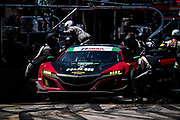 March 15-17, 2018: Mobil 1 Sebring 12 hour. 69 HART, Acura NSX GT3, Ryan Eversley