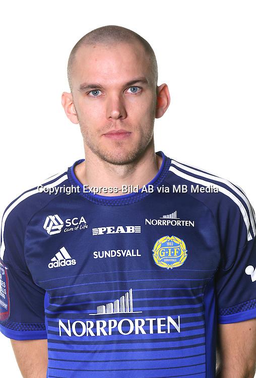 Marcus Danielsson<br /> Halvfigur<br /> @leverans<br /> Allsvenskan 2016<br /> Fotboll
