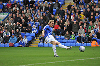 Photo:Tony Oudot/Richard Lane Photography. Peterborough United v Leeds United. Coca-Cola Football League One. 04/10/2008. Craig Mackail-Smith of Peterborough scoring the second goal.