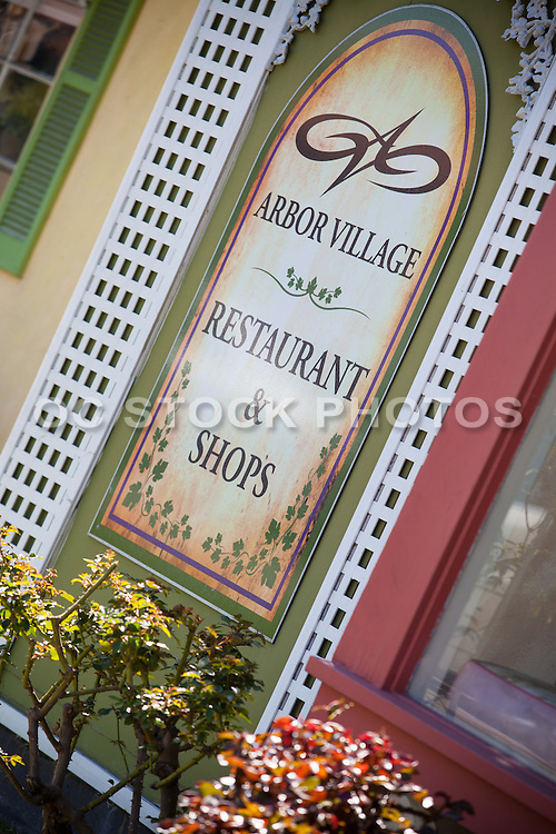 Arbor Village Restaurants and Shops in Los Alamitos California