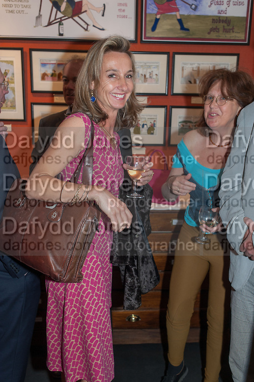 DAISY WAUGH; FRANCES WELCH, Elliott and Thompson host a book launch of How the Queen can Make you Happy by Mary Killen.- Book launch. The O' Shea Gallery. St. James's St. London. 20 June 2012.