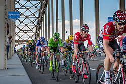 Peloton with GREIPEL Andre from Germany of Lotto Soudal (BEL) at the final lap, 1200m before the finish on the Waalbridge at Nijmegen, stage 2 from Arnhem to Nijmegen running 190 km of the 99th Giro d'Italia (UCI WorldTour), The Netherlands, 7 May 2016. Photo by Pim Nijland / PelotonPhotos.com | All photos usage must carry mandatory copyright credit (Peloton Photos | Pim Nijland)