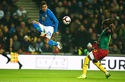 November 20, 2018 - Milton Keynes, United Kingdom - Roberto Firmino of Brazil .during Chevrolet Brazil Global Tour International Friendly between Brazil and Cameroon at Stadiummk stadium , MK Dons Football Club, England on 20 Nov 2018. (Credit Image: © Action Foto Sport/NurPhoto via ZUMA Press)