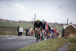 Sarah Roy (AUS) of Mitchelton Scott Cycling Team leads the chase during the ASDA Tour de Yorkshire Women's Race 2019 - Stage 2, a 132 km road race from Bridlington to Scarborough, United Kingdom on May 4, 2019. Photo by Balint Hamvas/velofocus.com