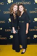Nederlandse galapremiere van de Disney-klassieker Lion King in Pathe Tuschinski, Amsterdam.<br /> <br /> Op de foto:  Vajen van den Bosch