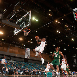 RENO, NV - JANUARY 9:  Willie Warren #17 of the Rio Grande Valley Vipers takes off on a fast break against the Reno Bighorns and defender Terrance Thomas #50 during the 2012 NBA D-League Showcase inside the Reno Events Center in Reno, Nev., Monday, Jan. 9, 2012.  NOTE TO USER: User expressly acknowledges and agrees that, by downloading and or using this photograph, User is consenting to the terms and conditions of the Getty Images License Agreement. Mandatory Copyright Notice: Copyright 2012 NBAE  (Photo by David Calvert/NBAE via Getty Images) *** Local Caption *** Willie Warren;Terrance Thomas