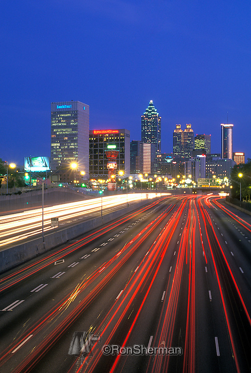 "Atlanta is the capital of and the most populous city in the U.S. state of Georgia, with an estimated 2011 population of 432,427. Atlanta is the cultural and economic center of the Atlanta metropolitan area, home to 5,359,205 people and the ninth largest metropolitan area in the country. Atlanta is the county seat of Fulton County, and a small portion of the city extends eastward into DeKalb County...Atlanta was established in 1837 at the intersection of two railroad lines, and the city rose from the ashes of the Civil War to become a national center of commerce. In the decades following the Civil Rights Movement, during which the city earned a reputation as ""too busy to hate"" for the progressive views of its citizens and leaders.  Atlanta attained international prominence. Atlanta is the primary transportation hub of the Southeastern United States via highway, railroad, and air, with Hartsfield-Jackson Atlanta International Airport being the world's busiest airport since 1998."