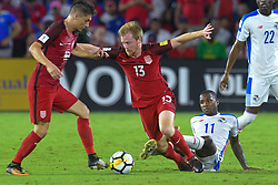 October 6, 2017 - Orlando, Florida, USA - United States midfielder Dax McCarty (13) brings the ball upfield during a World Cup qualifying game against Panama at Orlando City Stadium on Oct. 6, 2017 in Orlando, Florida. The US won 4-0....ZUMA Press/Scott A. Miller (Credit Image: © Scott A. Miller via ZUMA Wire)