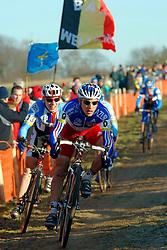 29-01-2006 WIELRENNEN: UCI CYCLO CROSS WERELD KAMPIOENSCHAPPEN ELITE: ZEDDAM <br /> Francis Mourey (FRA)<br /> ©2006-WWW.FOTOHOOGENDOORN.NL