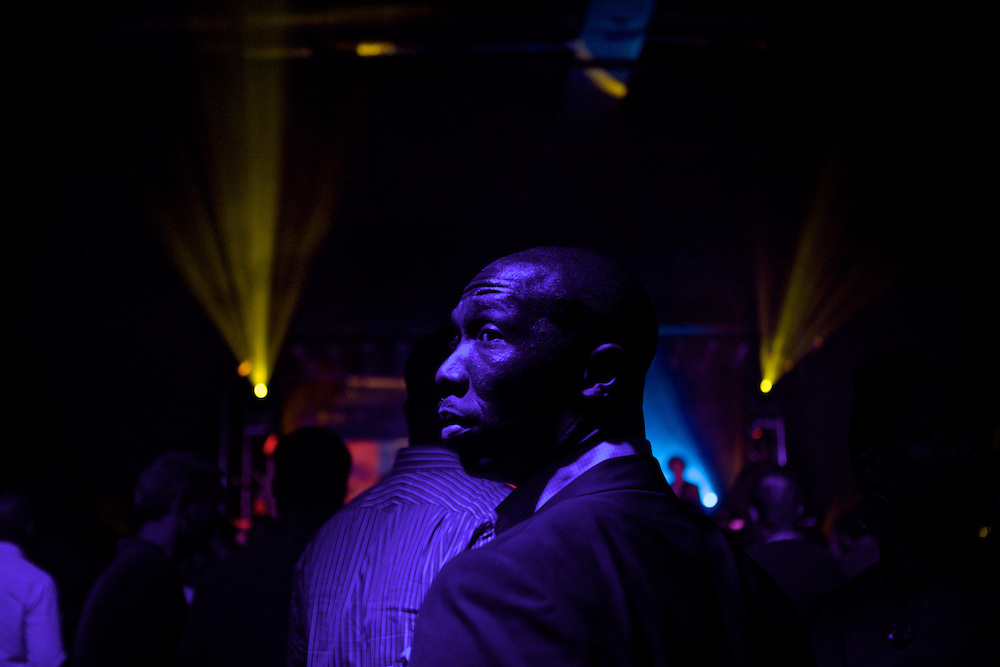 Delegates and guests attend A Start Up Rock On party that featured Allen Stone and The Roots at Amos' Southend on Monday, September 3, 2012 during the 2012 Democratic National Convention in Charlotte, NC.