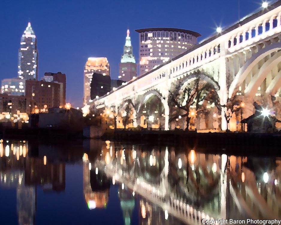 Cleveland skyline, Cleveland Ohio