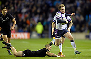 Scotland v New Zealand Saturday 18th November 2017 BT Murrayfield, Edinburgh.<br /> <br />  Neil Hanna Photography<br /> www.neilhannaphotography.co.uk<br /> 07702 246823