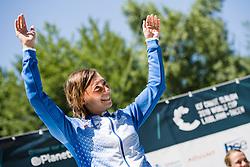 Eva TERCELJ of Slovenia during the Canoe Single (WK1) Womens Final race of 2019 ICF Canoe Slalom World Cup 4, on June 28, 2019 in Tacen, Ljubljana, Slovenia. Photo by Sasa Pahic Szabo / Sportida