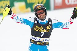 MATT Mario  of Austria during 2nd Run of the 10th Men's Slalom - Pokal Vitranc 2013 of FIS Alpine Ski World Cup 2012/2013, on March 10, 2013 in Vitranc, Kranjska Gora, Slovenia. (Photo By Vid Ponikvar / Sportida.com)