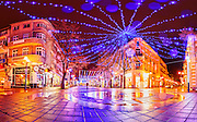 Christmas decoration in Town of Burgas 2012