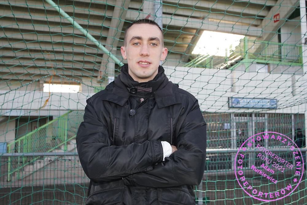Ireneusz Jelen - Auxerre - Magazine - 20.01.2007 - Foot Football - AJA - largeur attitude pose portrait..FOT. PANORAMIC / WROFOTO..*** POLAND ONLY !!! ***..*** NO INTERNET/MOBILE USAGE !!! *** *** Local Caption *** 00018312