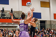 Stars Maia Wilson. ANZ Premiership Netball, Northern Stars v Splice Construction Magic, Bruce Pulman Arena, Auckland, Monday 8th April 2019. Copyright Photo: Shane Wenzlick / www.photosport.nz