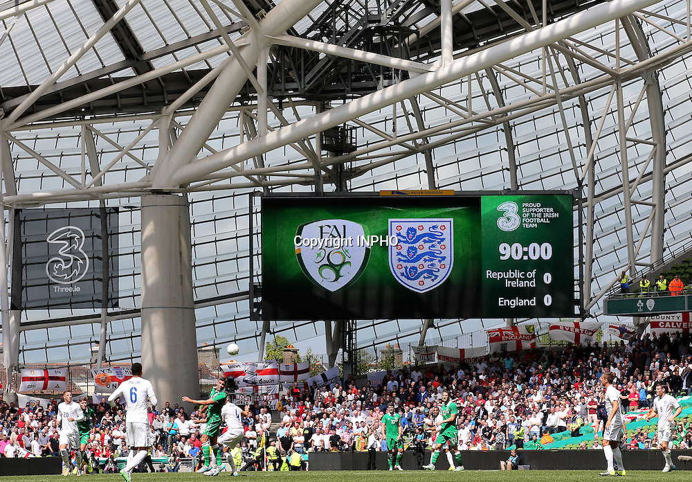 iThree International Friendly, Aviva Stadium, Dublin 7/6/2015<br /> Republic of Ireland vs England<br /> A view during the end of the game <br /> Mandatory Credit &copy;INPHO/Ryan Byrne