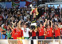 FUSSBALL EUROPAMEISTERSCHAFT 2008  Finale Deutschland - Spanien    29.06.2008 Iker Casillas (SPA) jubelt ueber den Europameistertitel