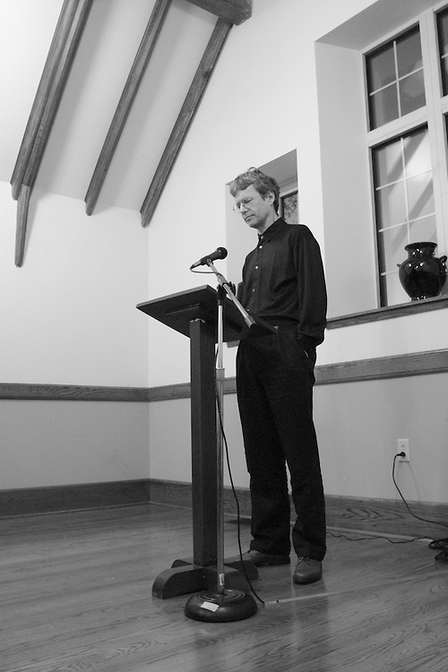 William Logan (poet and critic at the University of Florida) gives a poetry reading at Sewanee: the University of the South.