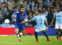 February 24, 2019 - London, England, United Kingdom - Chelsea's Ruben Loftus-Cheek.during during Carabao Cup Final between Chelsea and Manchester City at Wembley stadium , London, England on 24 Feb 2019. (Credit Image: © Action Foto Sport/NurPhoto via ZUMA Press)