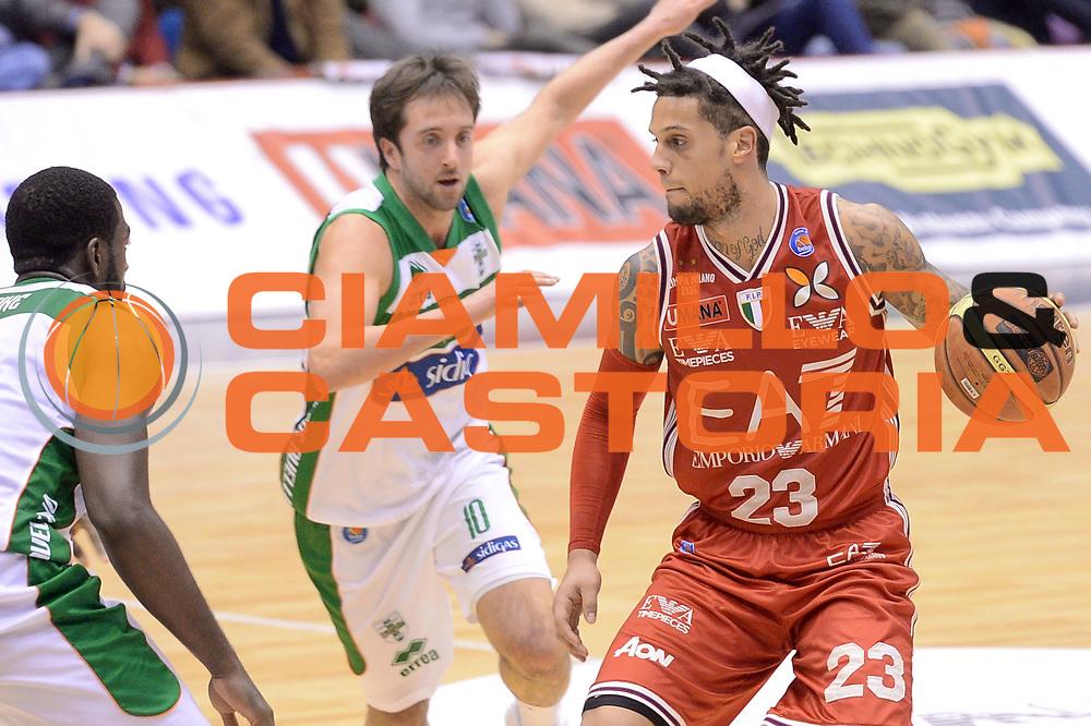 DESCRIZIONE : Milano Lega A 2014-15 EA7 Emporio Armani Milano vs Sidigas Avellino<br /> GIOCATORE : Daniel Hackett<br /> CATEGORIA : Palleggio<br /> SQUADRA : EA7 Emporio Armani Milano<br /> EVENTO : Campionato Lega A 2014-2015<br /> GARA : EA7 Emporio Armani Milano Sidigas Avellino<br /> DATA : 16/02/2015<br /> SPORT : Pallacanestro <br /> AUTORE : Agenzia Ciamillo-Castoria/I.Mancini<br /> Galleria : Lega Basket A 2014-2015  <br /> Fotonotizia : Milano Lega A 2014-2015 EA7 Emporio Armani Milano Sidigas Avellino<br /> Predefinita :