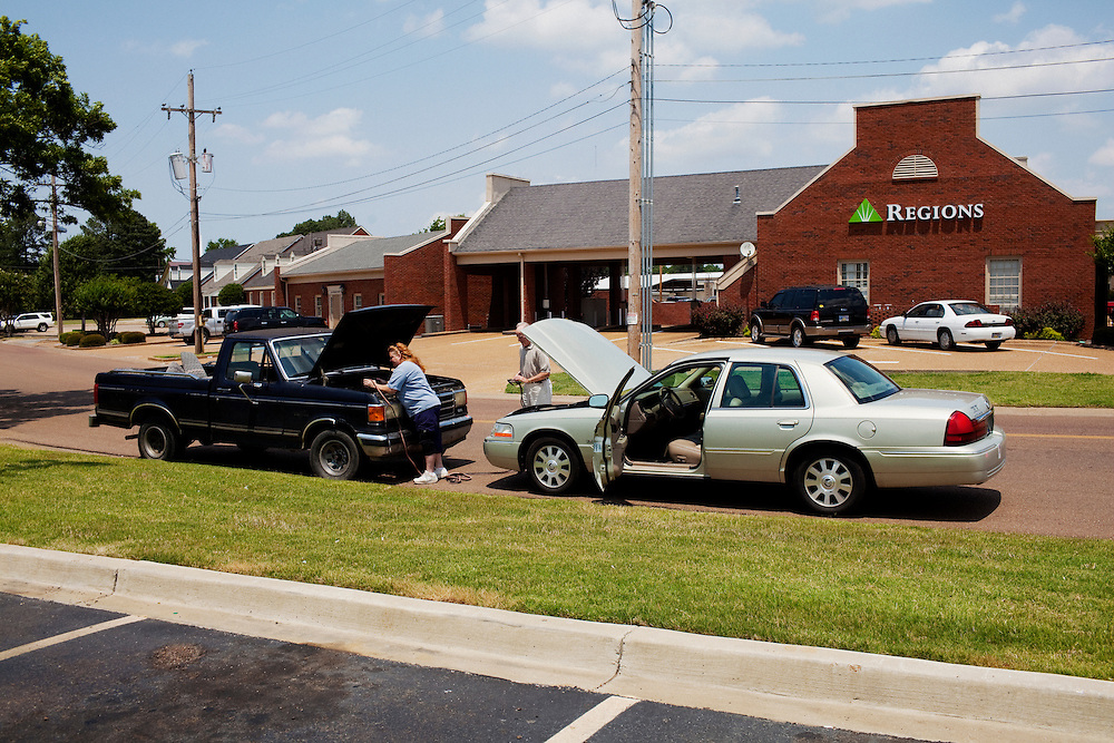 in the Baptist Town neighborhood of Greenwood, Mississippi on May 24, 2011.