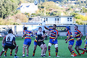 Swindale Shield, premier rugby union game played between Petone v Tawa at Lindhurst Park, Tawa, New Zealand, on 22 April  2017. Final score 47-24 to Tawa. Swindale Shield premier rugby union game played between Petone v Tawa at Lyndhurst Park, Tawa, New Zealand, on 22 April  2017. Final score 47-24 to Tawa.