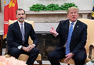 US President meets Spanish Royals - 19 June 2018
