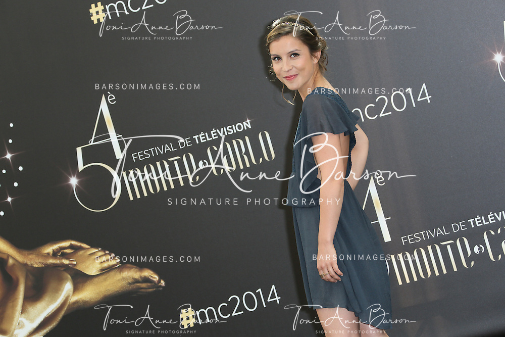 MONTE-CARLO, MONACO - JUNE 10:  Flore Bonaventura attends Photocall at the Grimaldi Forum on June 10, 2014 in Monte-Carlo, Monaco.  (Photo by Tony Barson/FilmMagic)