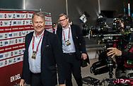 FOOTBALL: Coach Åge Hareide (Denmark) arrives at the stadium before the EURO 2020 Qualifier match between Denmark and Georgia at Parken Stadium on June 10, 2019 in Copenhagen, Denmark. Photo by: Claus Birch / ClausBirchDK.