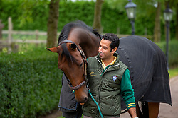 At home with Kamal Bahamdan, KSA<br /> Tops Stables - Valkenswaard 2012<br /> © Dirk Caremans