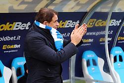 """Foto Filippo Rubin<br /> 10/12/2016 Ferrara (Italia)<br /> Sport Calcio<br /> Spal vs Spezia - Campionato di calcio Serie B ConTe.it 2016/2017 - Stadio """"Paolo Mazza""""<br /> Nella foto: LEONARDO SEMPLICI<br /> <br /> Photo Filippo Rubin<br /> December 10, 2016 Ferrara (Italy)<br /> Sport Soccer<br /> Spal vs Spezia - Italian Football Championship League B ConTe.it 2016/2017 - """"Paolo Mazza"""" Stadium <br /> In the pic: LEONARDO SEMPLICI"""