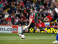 Danny Lafferty of Sheffield Utd scores the third goalduring the English League One match at Bramall Lane Stadium, Sheffield. Picture date: April 30th 2017. Pic credit should read: Simon Bellis/Sportimage