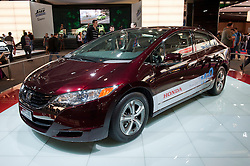 Honda Hydrogen fuel cell Clarity car at Paris Motor Show 2010
