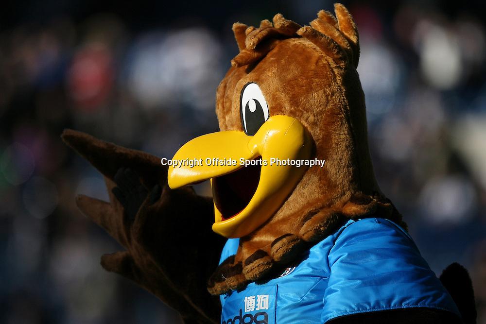25/02/2012 - Barclays Premier League - West Bromwich Albion vs. Sunderland - The West Brom 'Baggie Bird' mascot - Photo: Simon Stacpoole / Offside.