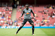 RB Leipzig Armando Bruma (17) during the Emirates Cup 2017 match between Leipzig and Benfica at the Emirates Stadium, London, England on 30 July 2017. Photo by Sebastian Frej.