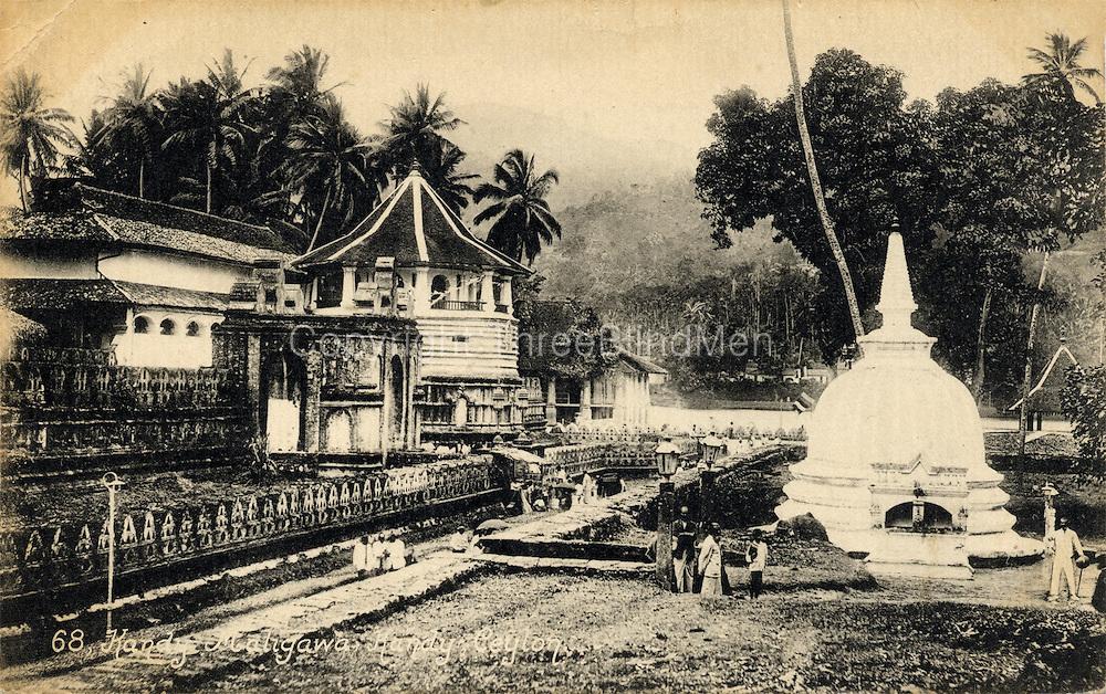 Kandy Maligawa, Kandy, Ceylon.