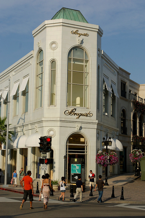 Rodeo Drive, Beverly Hills, Los Angeles, California, United States of America