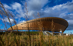 General view of the Lee Valley Velopark during day six of the Six Day Series at Lee Valley Velopark, London.