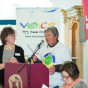 02.03.2017            <br /> The heritage town of Cashel in County Tipperary is moving towards a cleaner, greener future as it begins the process to become Ireland&rsquo;s first Zero Waste town.<br /> <br /> Helping to launch and announce details of Towards Zero Waste Cashel was Mindy O'Brien, Voice and Derry O'Donnell, Zero Waste Cashel.   <br /> <br /> <br /> &ldquo;Towards Zero Waste Cashel&rdquo; is an 18-month pilot initiative which promotes reducing waste and repairing and repurposing items, and was officially launched today (Thursday) at the historic Rock of Cashel. Picture: Alan Place