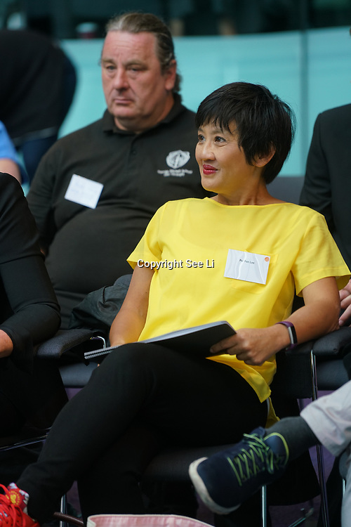 City Hall, London, Uk, 29th June 2017. BBC Children's TV Presenters Pui Fan Lee preforms and question at the Health and education experts celebrate London's healthiest schools at City Hall awards.