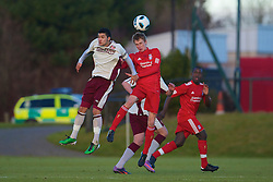 LIVERPOOL, ENGLAND - Tuesday, January 11, 2011: Liverpool's Stephen Darby in action against Sunderland during the FA Premiership Reserves League (Northern Division) match at the Kirkby Academy. (Pic by: David Rawcliffe/Propaganda)