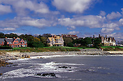 Image of the seaside town of Newport, Rhode Island, America Northeast