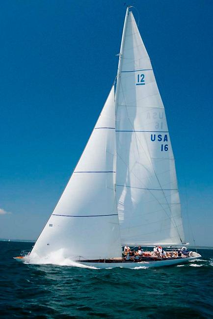 12 Meter Class US16 Columbia, 1958 America's Cup winner