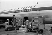 1962 - Loading Unidare heaters onto an Aer Lingus jet for export to Canada