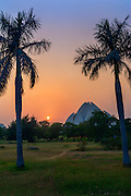 The Lotus Temple, New Delhi, India.