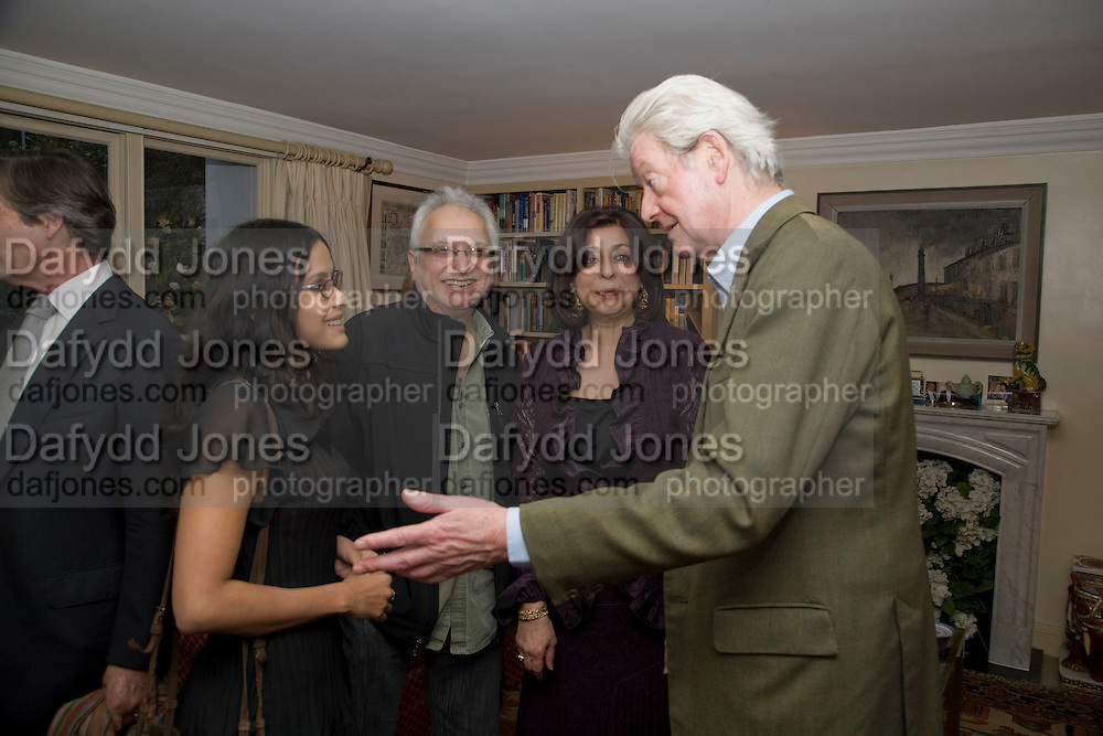 DAUGHTER OF AN ECONOMIST NOBEL PRIZEWINNER. SHE IS A  BOLLYWOOD ACTRESS; NANDANA SEN;  Faroukh Dhondy; GILLON AITKEN;, Aatish Taseer  book launch party for his new book Stranger To History. Travel book asks what it means to be a Muslim in the 21st century. Hosted by Gillon Aitken. Kensington, London. 30 March 2009